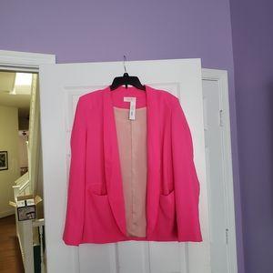 Hot Pink Summer Blazer
